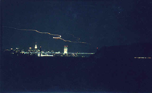 NYC looking down the Hudson River, 1977